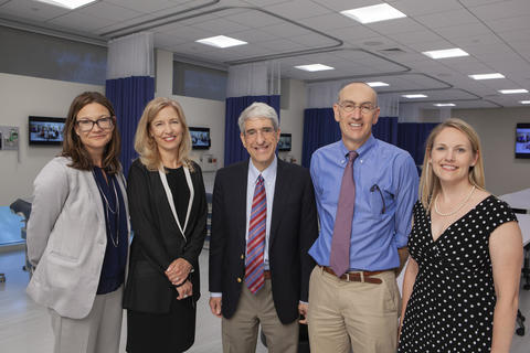 Celebrating YSN's new Simulation Lab and classroom space