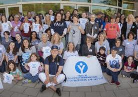 Group Shot of Yale School of Nursing: Yale Day of Service - Newborns in Need Volunteers