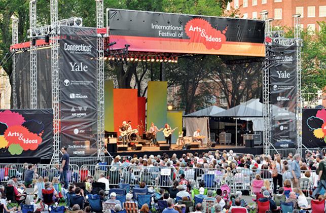 New Haven outdoor concert